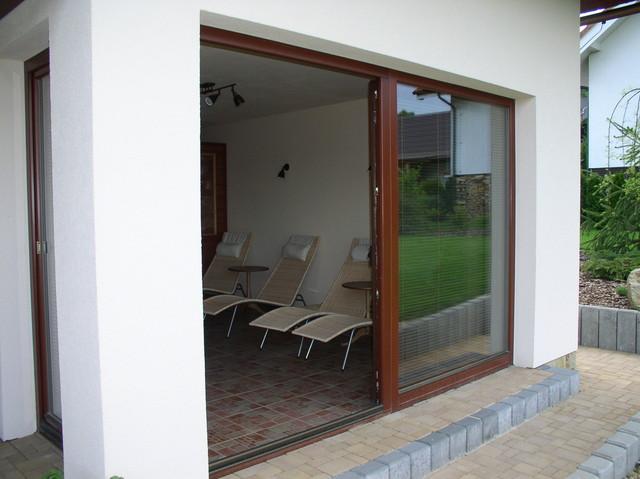 Balkonové dveře trojsklo