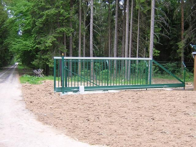 Jednoduchá a přitom bezpečná brána
